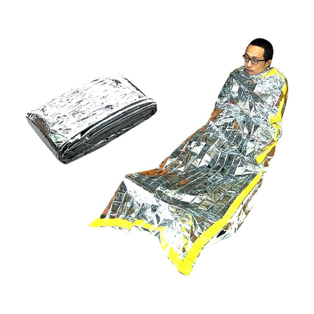 Military Army Bag Rescue Survival Mylar Foil Emergency Disaster Sleeping New