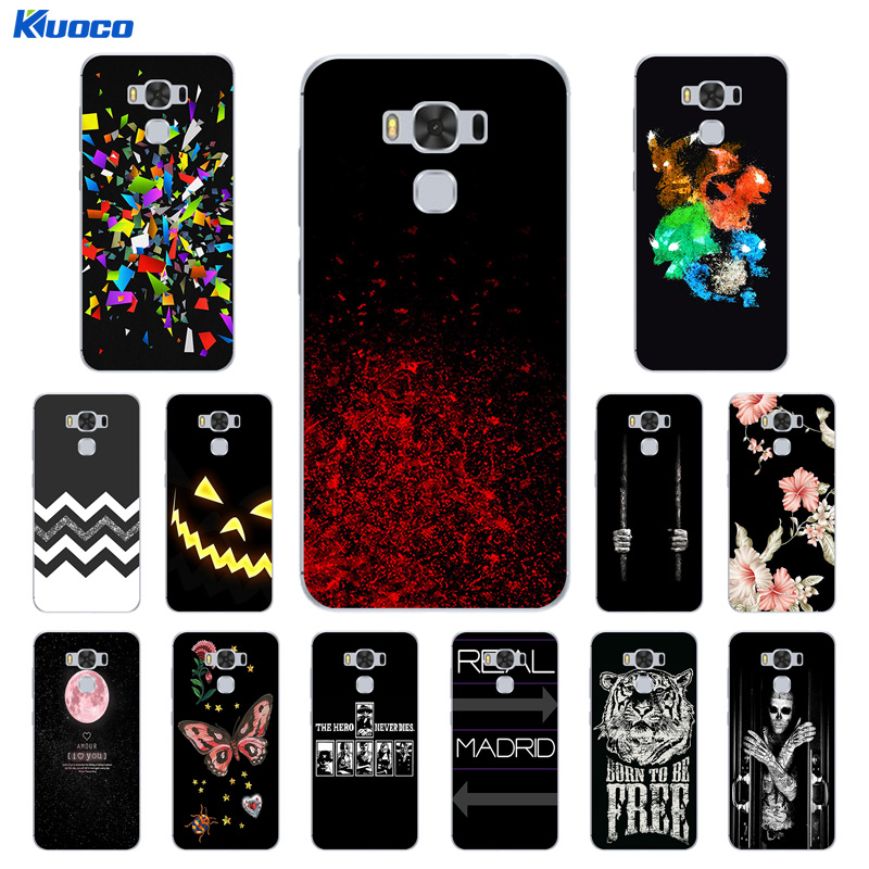 Case for ASUS Zenfone 3 Max ZC553KL Cover Character Printing Soft Silicone Bags for ASUS ZC553KL Fundas zc553kl Phone Cases