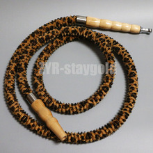 Chicha hose leopard print tiger 150cm narguile hookah tube water pipe accessories nargile shisha part  smoking bowl tool Revive