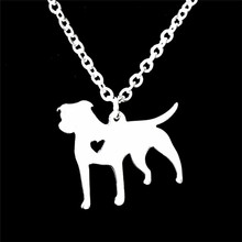 GORGEOUS TALE Bohemia Animal Dog Pendant Necklace For Women Stainless Steel Fashion Boho Jewelry 2017 Women Accessories