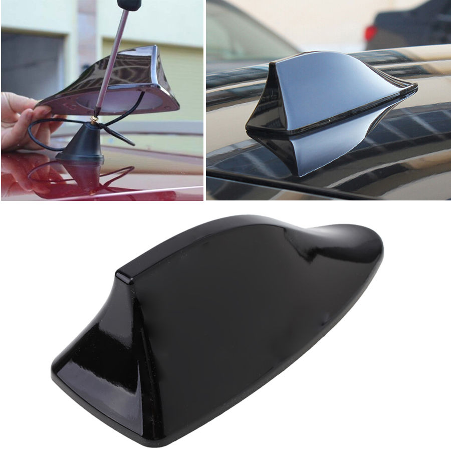 2017 Car Anti-static Aerial Shaft Shark Fin Auto Antenna for Vauxhall Adam Astra Vectra VXR8 / Smart Forfour Fortwo Roadster 10led inside auto car solar powered led flashing car shark fin warning tail lights with controller universal aerial antenna ad