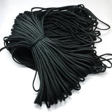 Cuerdas de Escalada En roca, poliéster y Polipropileno Paracords, DarkSlateGray, 4mm, sobre 100 m/paquete; 420 ~ 500g/bundle