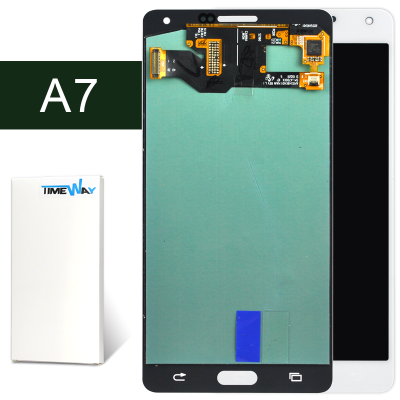 DHL 5pcs for Samsung  A7 LCD Screen Display Touch Digitizer Assembly A7000 A7009 A700F A700FD A700FQ A700H A700K A700L