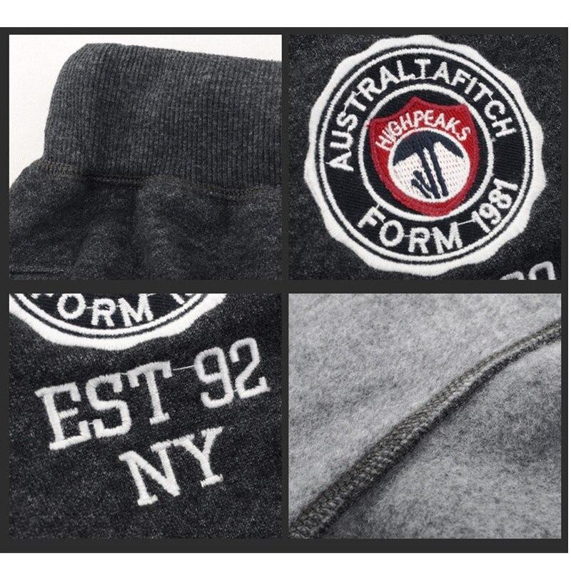 Image 5 - Зимние штаны для мужчин, Плотные хлопковые спортивные штаны, длинные брюки, мягкие и дышащие штаны для бега, размеры от s до 3XL-in Спортивные брюки from Мужская одежда