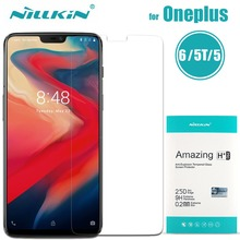Oneplus 7 6T 6 5T 5 Tempered Glass Nillkin 9H Amazing H / H+ Pro Clear Glass Film For One Plus 7 6T 6 5T 5 Screen Protector