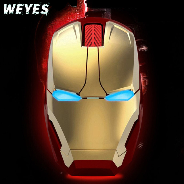WEYES Iron Man Wireless Mouse