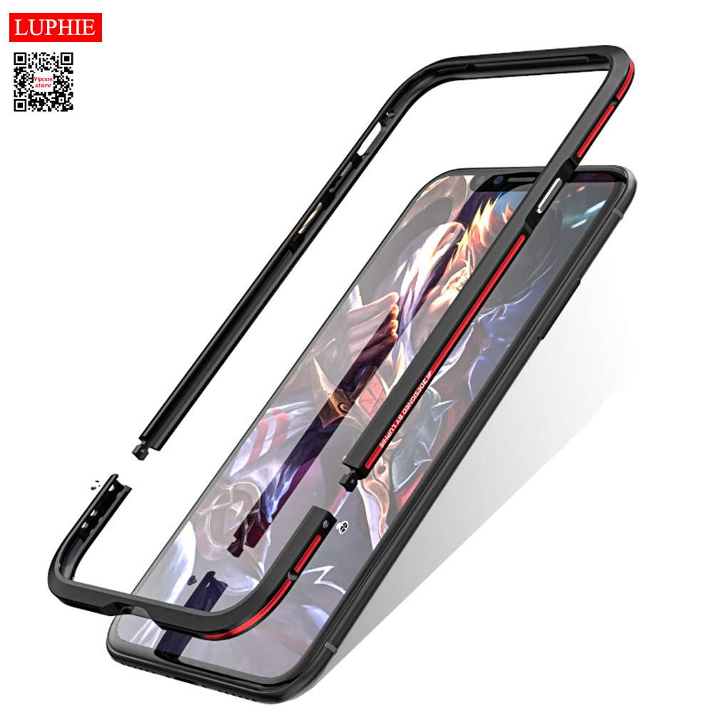 Luphie Case for Apple IPhone XS MAX Shockproof Armor Metal Bumper Irregularly Aluminum Cover for IPhone XS XR X XS MAX Case iPhone XS
