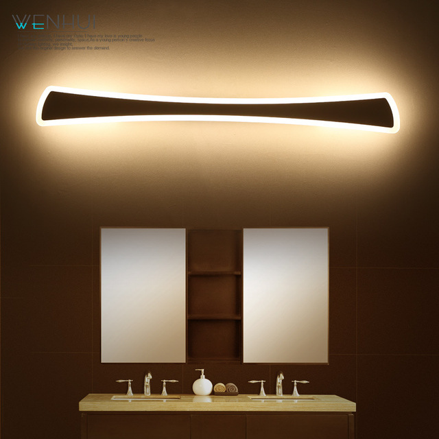 HAIXIANG LED Spiegel Badkamer Licht Waterdicht Moderne Wandlamp 15 W ...