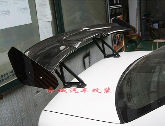 3D Carbon Fiber CAR REAR WING TRUNK SPOILER FOR TOYOTA Reiz/Mark X/Camry/Corolla/Crown/GT86 FAST by EMS