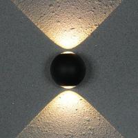 실내 또는 실외 ip65 12 w cob led 벽 램프 AC85V-265V 알루미늄 장식 벽 sconce 침실 led 벽 조명