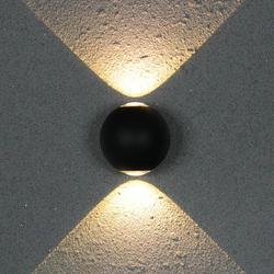 Wewnątrz lub na zewnątrz IP65 12W COB LED kinkiet u nas państwo lampy AC85V-265V aluminium udekoruj kinkiet sypialnia ściany światła LED
