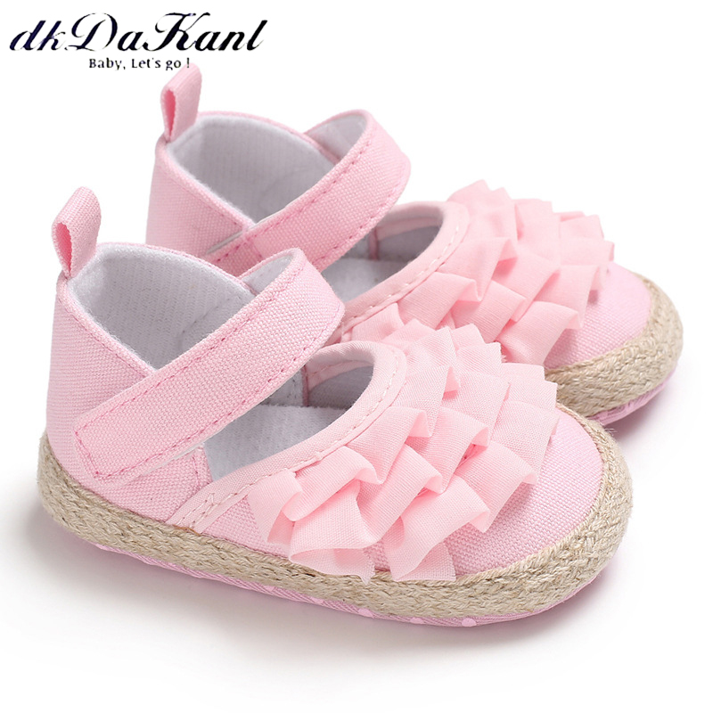 dkDaKanl Baby Shoes First Walkers Shoes For Girls and Boys Non-Slip Soft and Comfortable 0-2 year old Toddler Shoes LXM117