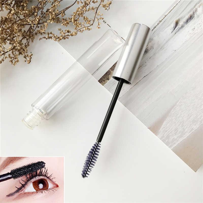 ce137e3fbfc ... 1Pc Empty Mascara Tube Eyelash Cream Vial Liquid Bottle Silver Cap Wuth  Plug Cosmetic Container Mascara ...