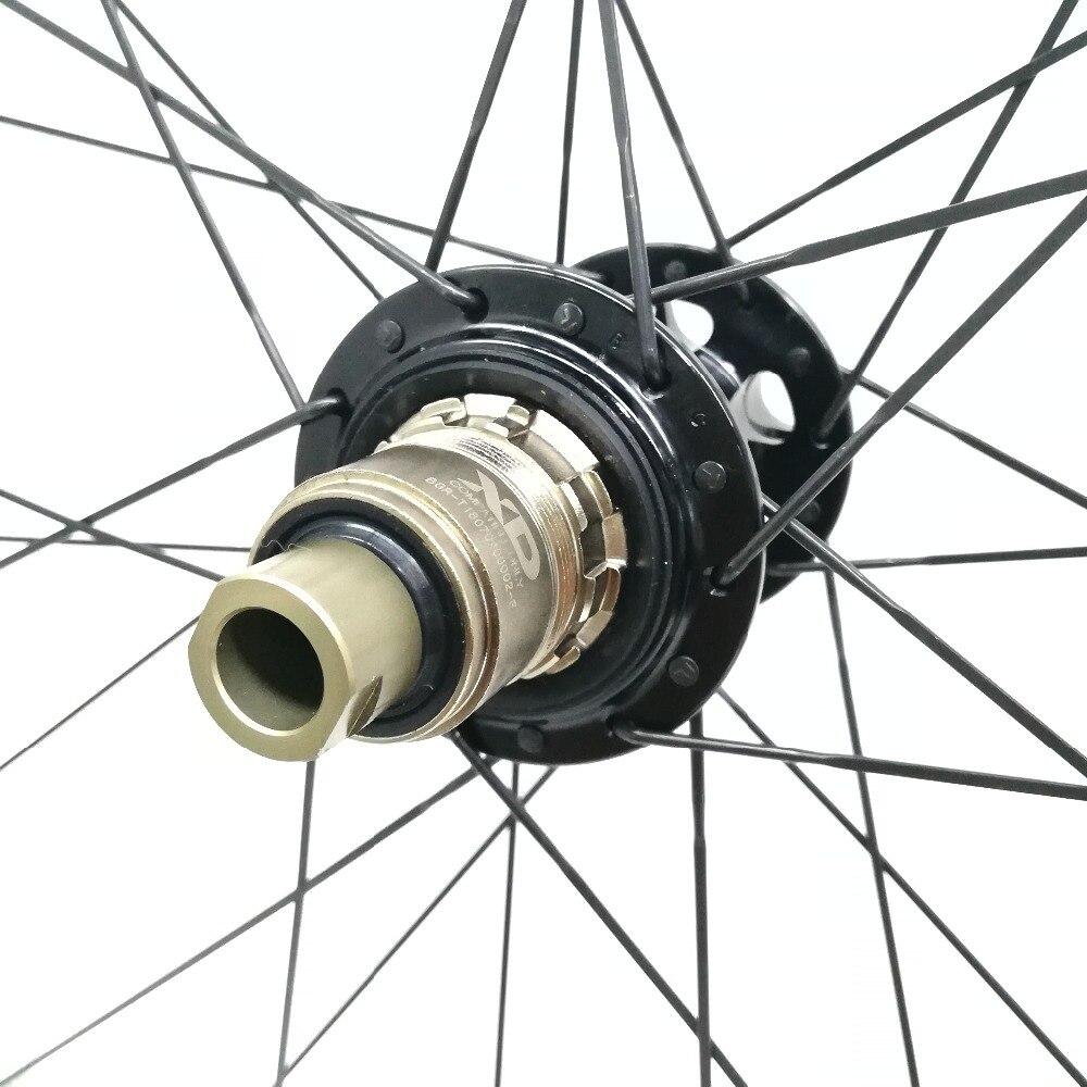 29ER VTT Carbone Roues XD Boost Hub 29 ''Montagne Vélo Aero Rayons Roues Fit pour SRAM 11 s Essieu top Léger NGT OEM
