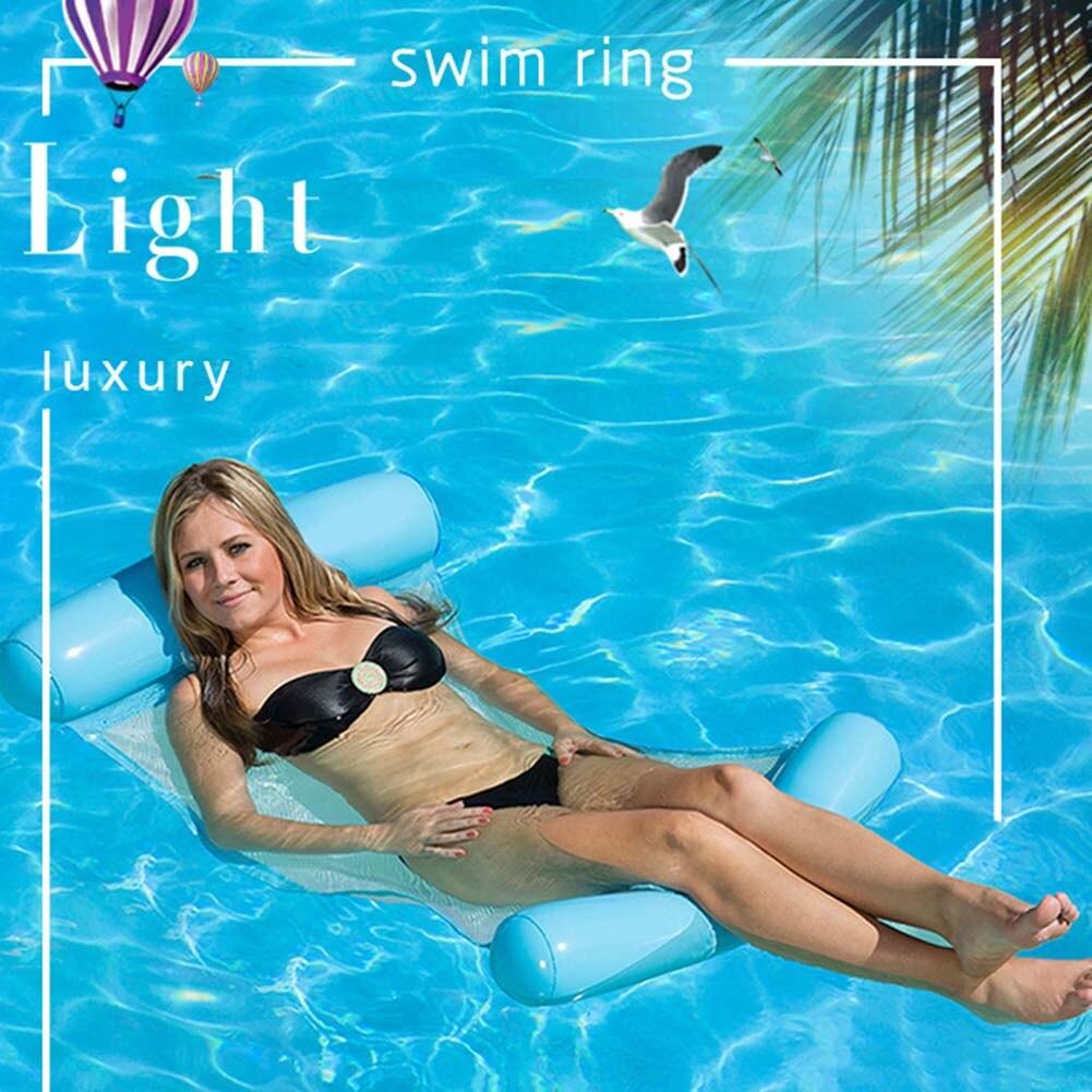 Übergroßen Erwachsene Wasser Sport Luft Matratze Faltbare Schwimmbad Strand Aufblasbare Sofa Float Kissen Bett Stuhl Hängematte Bestellungen Sind Willkommen. Luftmatratzen Wassersport