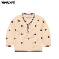 2018 New Baby Children Clothing Boys Girls Long Sleeve Knitted Cardigan Sweater Kids Autumn Winter Cotton