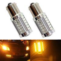 20pcs BAY15D 1157 LED P21W 33 Led 5730 Smd Car Bulb Brake Lights Auto Reverse Daytime