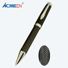 Acmecn Branded Writing Instrument Classic Carbon Fiber Ballpoint Pen Metal Heavy Ball Parker style refill OfficeStationery