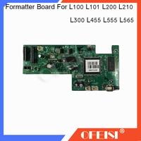 FORMATTER PCA ASSY Formatter Board logic Hauptplatine Hauptplatine für Epson L100 L101 L200 L210 L300 L455 L475 L555 l565 drucker-in Drucker-Teile aus Computer und Büro bei