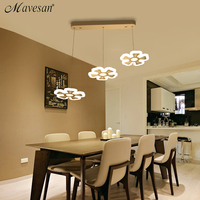 New Pendant Lights Dining Room Lamp Flower Light Fixtures Abajur Lighting Square And Round Base Lustre