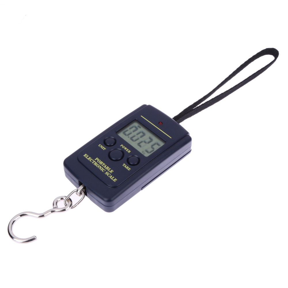 Portable 40kg / 10g Electronic Hanging Fishing Digital Pocket Weight Hook Scale Multifunctional Luggage Shopping Fishing Weight