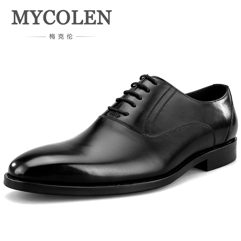 MYCOLEN Luxury Fashion Men Shoes High Quality Men Formal Shoes Lace-Up Men Business Oxford Shoes Brand Men Pointy ShoesMYCOLEN Luxury Fashion Men Shoes High Quality Men Formal Shoes Lace-Up Men Business Oxford Shoes Brand Men Pointy Shoes