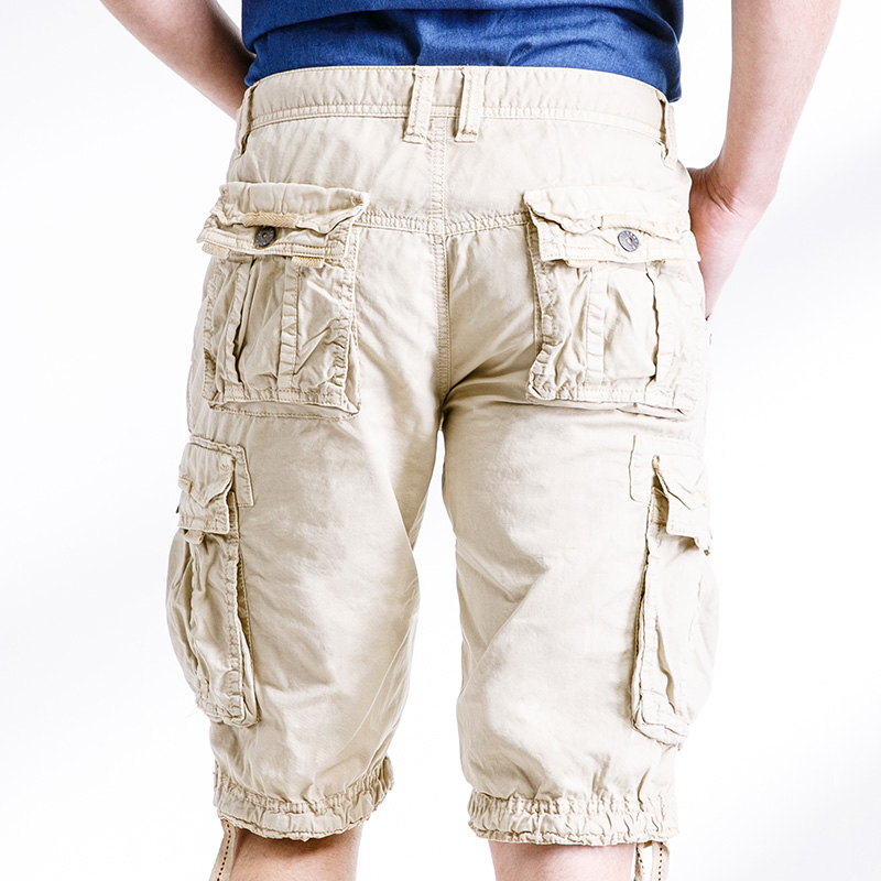 6fa9750c54 Summer Men Cargo Shorts Plus SizeArmy Green Baggy Zipper Pocket Short  Trousers 29 38 AYG291-in Casual Shorts from Men's Clothing on  Aliexpress.com | Alibaba ...