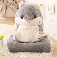 Baby Blanket Cute Design Cartoon Squirrel Shape Portable Blanket Toys Sofa Car Office Air Conditioning Travel