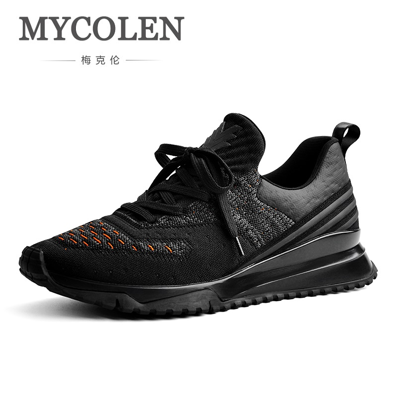 MYCOLEN Spring/ Autumn New Men Fashion Shoes Mens Comfortable Outdoor Casual Shoes Lace-Up Sneakers Zapatillas Casual Hombre klywoo new white fasion shoes men casual shoes spring men driving shoes leather breathable comfortable lace up zapatos hombre