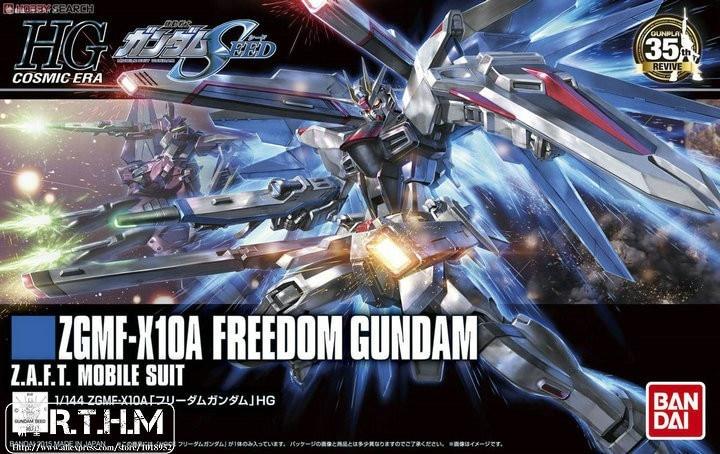 1PCS Bandai HG 1/144 HGUC 192 Freedom Gundam Revive hobby Mobile Suit Assembly Model Kits Anime action figure  Gunpla juguetes ohs bandai mg 179 1 100 sengoku astray gundam mobile suit assembly model kits