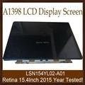 """5 unids/lote Trabajo Genuino Nuevo 2015 Año Pantalla LCD para Apple MacBook Pro Retina A1398 15 """"LSN154YL02-A01 Pantalla LCD De Grado AAA +"""