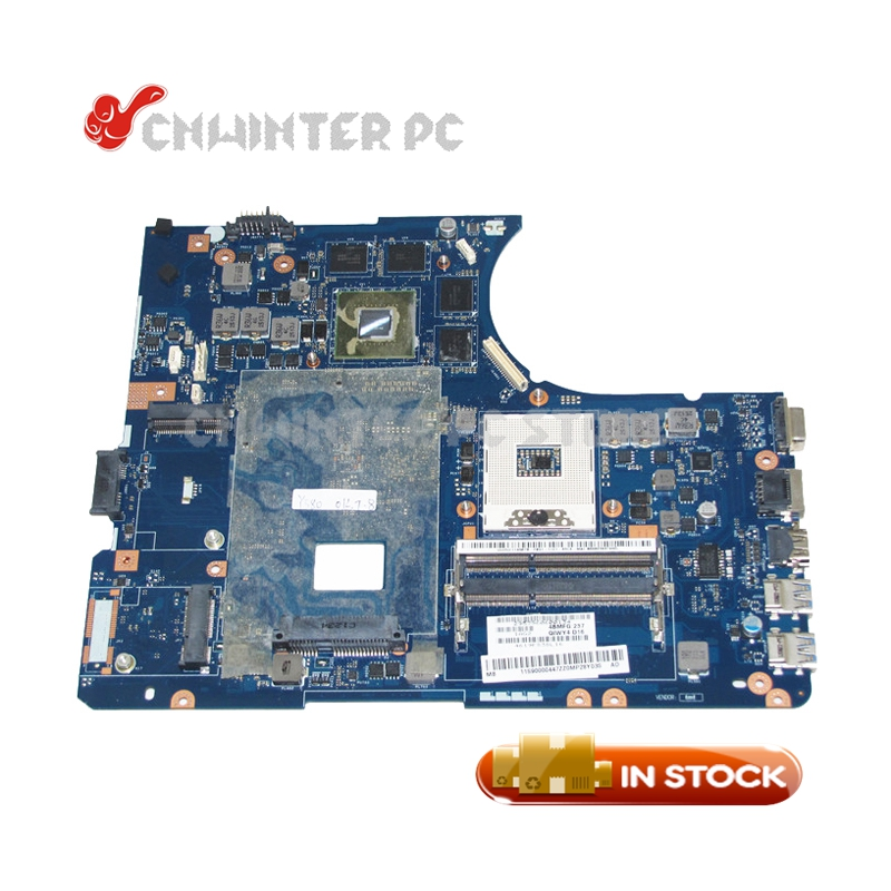 NOKOTION 11S90000447 LA-8002P For Lenovo ideapad y580 laptop Motherboard hm76 ddr3 GTX660M Video Card 2GB high quality suitable for lenovo y500 laptop motherboard qiqy6 la 8692p pga989 gt650m 2gb ddr3 hm76 package well