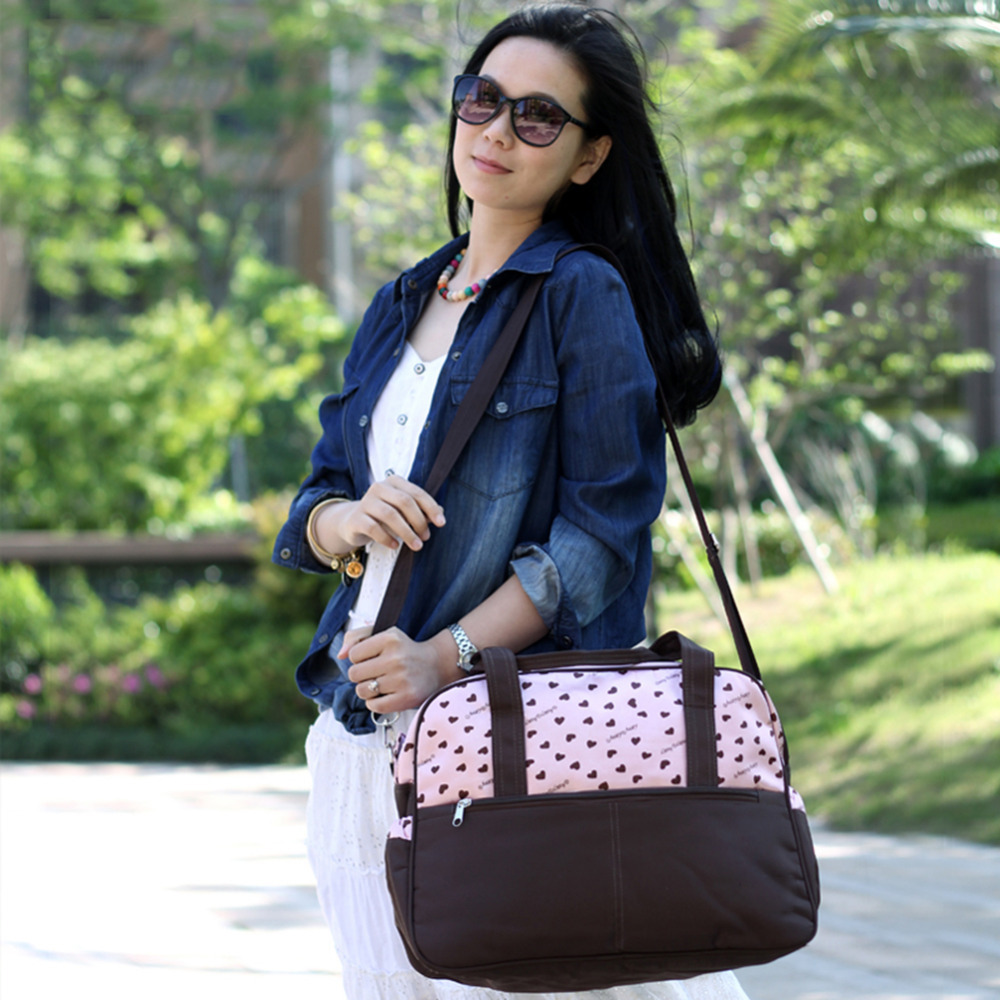 2017 Hot sale Classic Mummy Handbag Multifunctional Diaper Bags Baby Care Stroller Bag Large Capacity Shoulder Bag