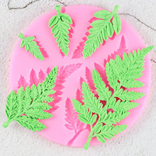 Sugarcraft Leaf Silicone Mold Mimosa Fondant Molds DIY Cake Decorating Tools Candy Resin Clay Chocolate Gumpaste Moulds cheap CE EU LFGB Eco-Friendly Stocked cake mold Cake Tools pink make chocolate candy jelly Fondant confeitaria Party Wedding Cake Decoration
