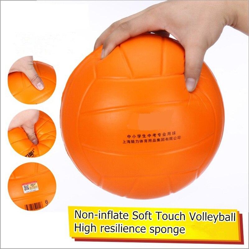 28ce4f32d4acb Volley Ball doux au toucher avec filet de filet ballon de plage ballon de  Volley Non gonflé pour joueur débutant haute résilience Pro 204mm dans  Ballons de ...