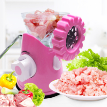 цена Multifunctional Detachable Sausage Machine Pasta Maker Household Stainless Steel Blade Vegetable Manual Meat Grinder в интернет-магазинах