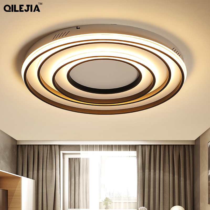 Round led ceiling lights Remote control living room bedroom restaurant indoor light  luminarias para sala dimming ceiling lampRound led ceiling lights Remote control living room bedroom restaurant indoor light  luminarias para sala dimming ceiling lamp