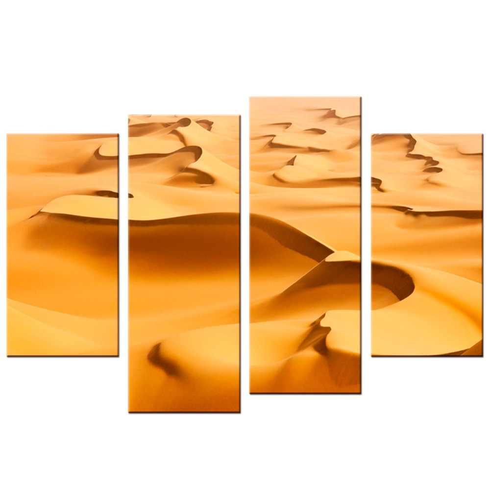 4 Panels/Set Poster Print Desert Landscape Wall Pictures Living Room Decor painting