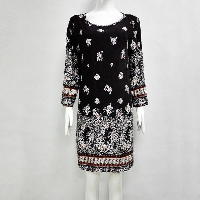 Women's Floral Printed Brazilian Style Dress