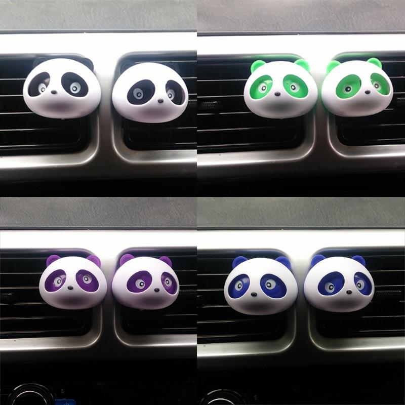 2 шт. автомобиль-стайлинг панда автомобилей парфюмерия 100 оригинал 5 мл одноцветное освежители воздуха ОЕМ кондиционер дефлектор ароматизатор в автомобиль уход