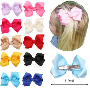 RuoShui 1PC Kids Girls Hair Bow Clips Hair Accessories