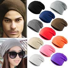 Factory Price! Unisex Women Men Knit Ski Crochet Multi-color Winter Warm Hat Cap Beanie Hip-Hop Hats