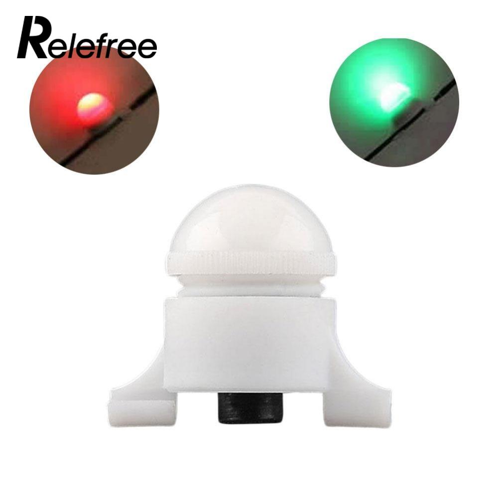 Relefree 10 Pcs /Lot  2 Size In 1 Clip On Bite Alarm White Small Mini High Quality Waterproof Automatic Outdoor Sport
