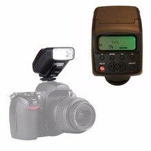 Jy-610 ii универсальный жк-вспышки на камере вспышка вспышка для nikon canon pentax olympus dslr камеры с мешком