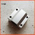 SC8UU 4pcs /lot Standard  8mm Linear axis ball bearing block with LM8UU bush, pillow block linear BEARING
