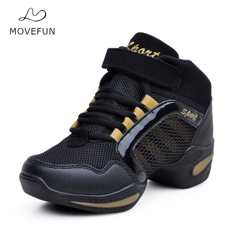 2018 vente Zapatos De Baile Latino Mujer caractéristique semelle extérieure souple respiration chaussures De danse baskets pour femme botte pratique moderne Jazz