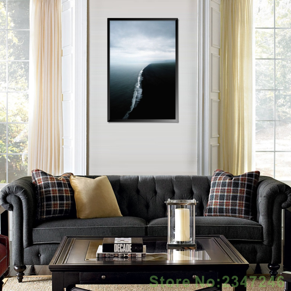 Aliexpress.com : Buy Nordic Style Landscape Canvas Painting ...