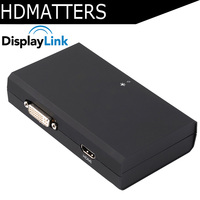 USB 3.0 to HDMI Converter Displaylink IC video&audio adapter for apple macbook pro air win10 win8 win7