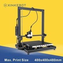 Удобный Портативный 3D принтер алюминия из металла Друкер совместимы различные нити