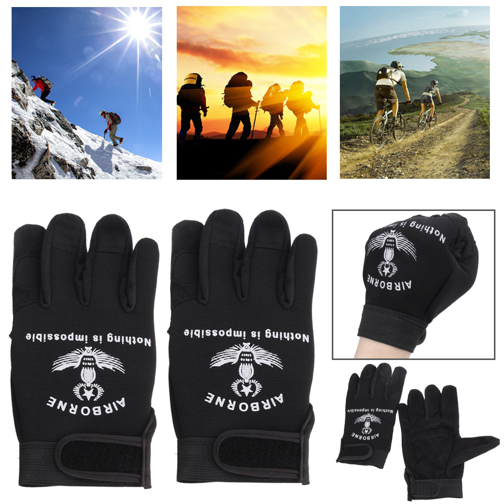 Waterproof Bike Bicycle Motorcycle Riding Gloves Touch Screen Outdoor Sports Mens Full Glove For Cycling Tactical Training
